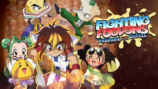 Fighting Foodons on FREECABLE TV