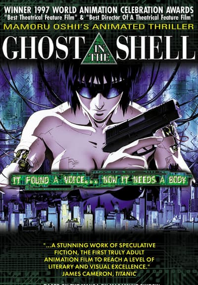 Watch Ghost In The Shell 1995 Full Movie Free Online Streaming Tubi